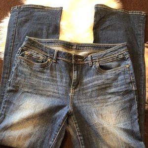 Simply Vera Vera Wang bootcut jeans (size 10)